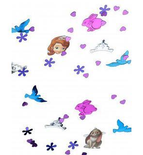 Confettis Princesse Sofia?
