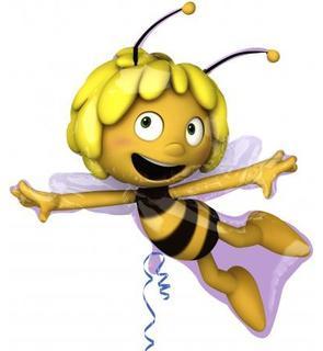 Ballon aluminium Maya l'abeille?