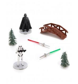 Kit de décorations gâteaux Star Wars?
