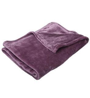 Couverture bébé 100x150cm violet